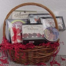 A Naughty but Nice Gift Basket