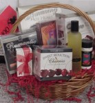 An Evening In Bed Romantic Gift Basket