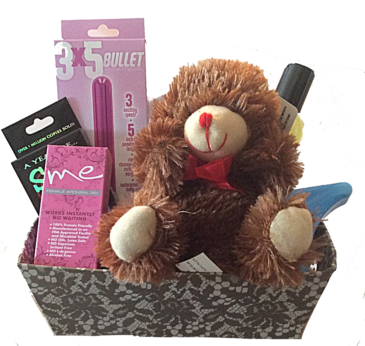 Romantic gifts and gift baskets for all occasions touch me here gift basket sciox Image collections